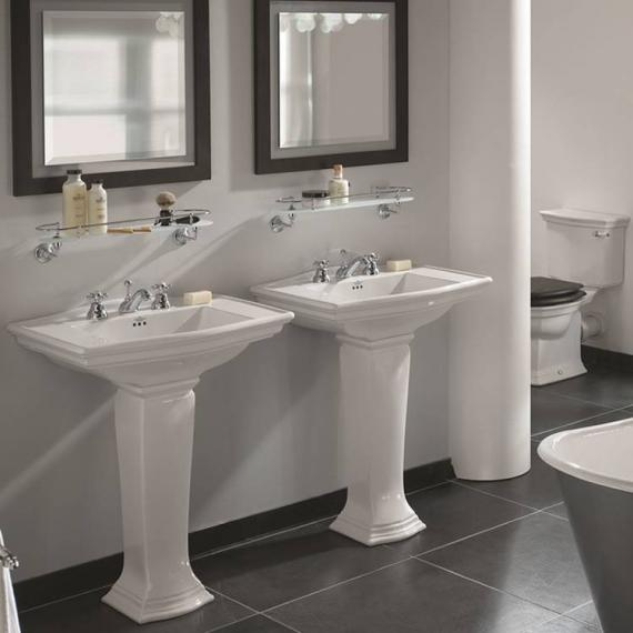 Imperial Westminster Large Basin and Pedestal - Spec