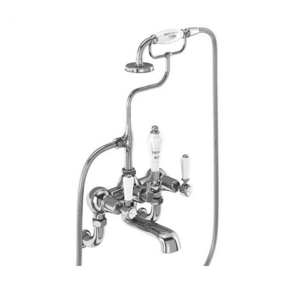 Burlington Kensington Wall Mounted Bath Shower Mixer