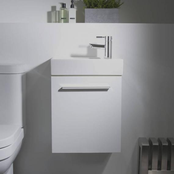 Tavistock Kobe 450mm Gloss White Wall Mounted Unit & Basin