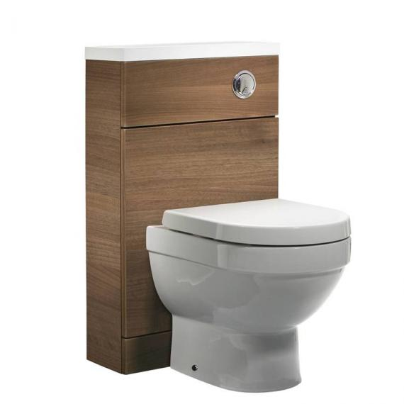 Tavistock Kobe 500mm Walnut Back To Wall WC Unit - Image 2