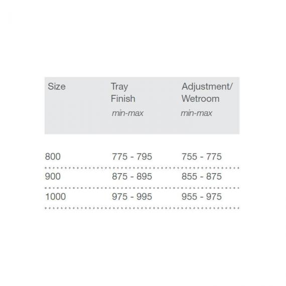 Merlyn 8 Series 2 Door Quadrant Shower Enclosure Specification