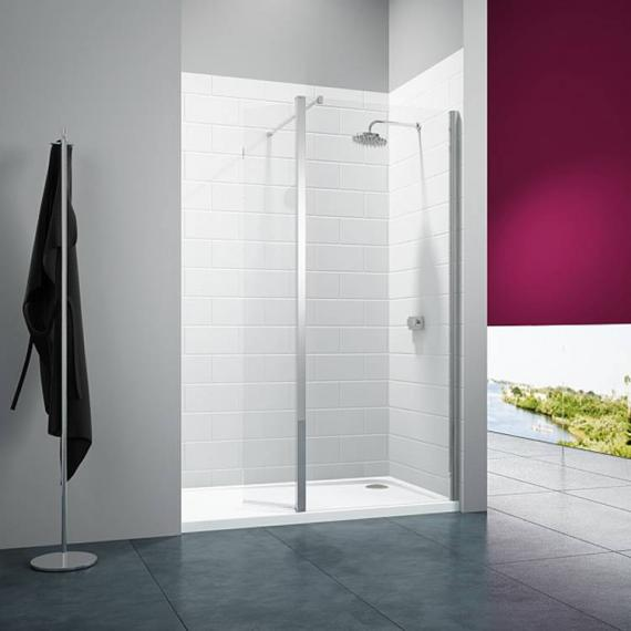 Merlyn 8 Series Shower Wall With Swivel Panel