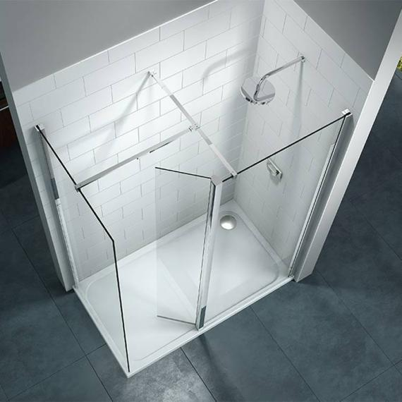 Merlyn 8 Series Walk In Shower Enclosure With Swivel Panel