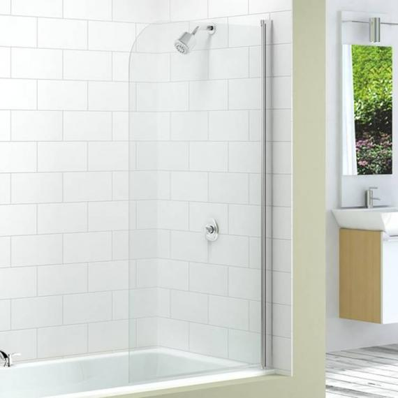 Merlyn MB1 Single Curved Bath Screen