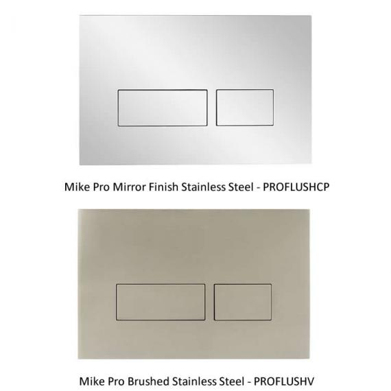 Optional Bauhaus Mike Pro Flush Plates