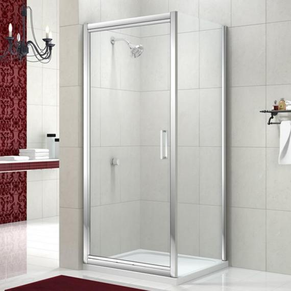 Merlyn 8 Series Infold Shower Door With Optional Side Panel