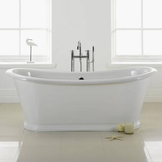 Nautica 1700mm Freestanding Boat Bath