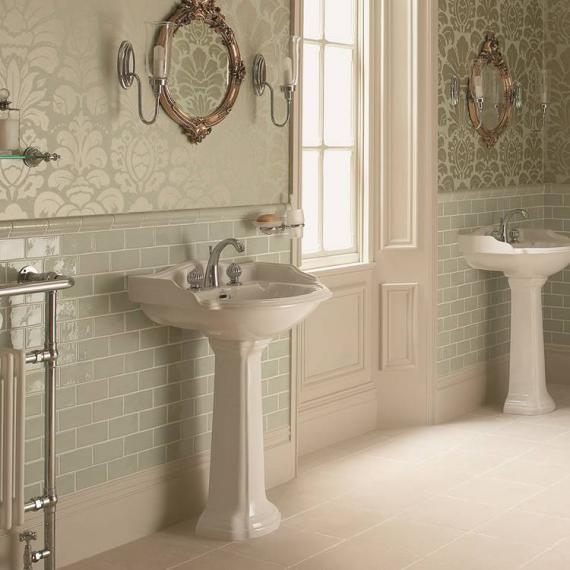 Imperial Oxford Large Basin and Pedestal