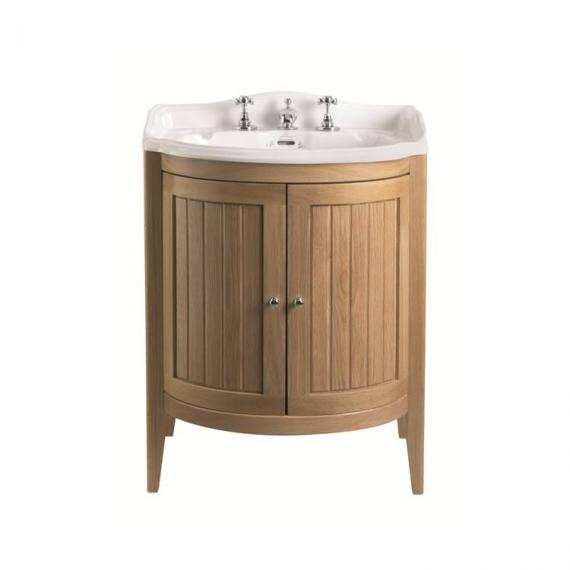 Imperial Oxford Linea Vanity Unit with 2 Solid Wood Doors