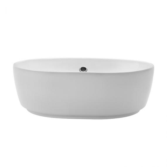 Bauhaus Pearl Countertop Basin With Overflow