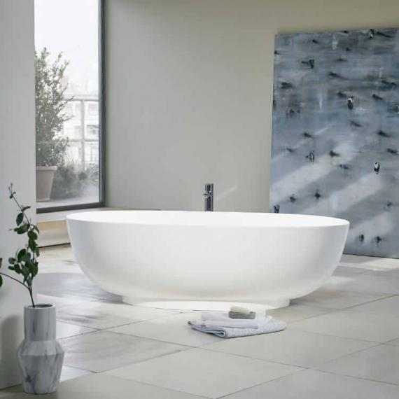 Clearwater Puro Clear Stone Freestanding Bath