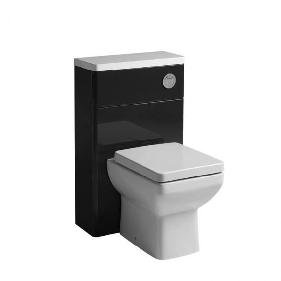 Tavistock Q60 500mm Back To Wall Graphite WC Unit - Image 2