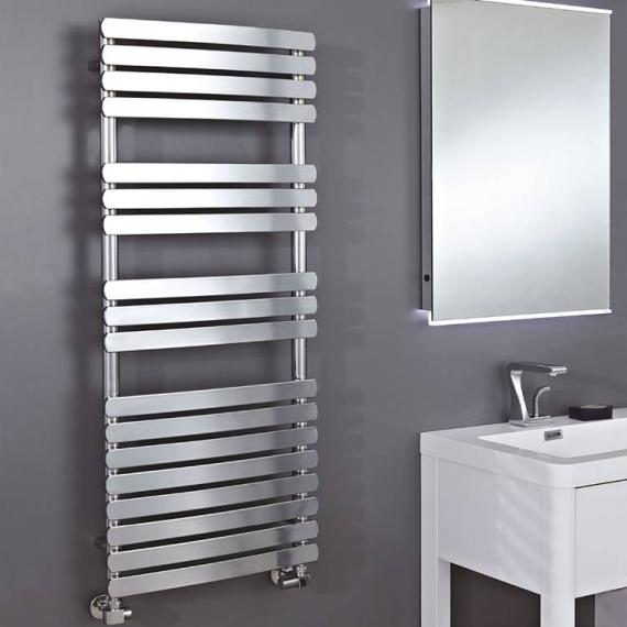 Phoenix Olivia Curved Electric Chrome Designer Radiator