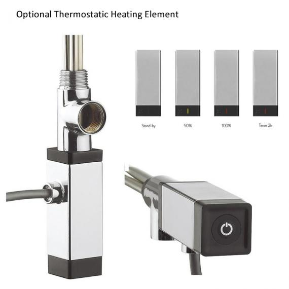 Optional Bauhaus Thermostatic Heating Element