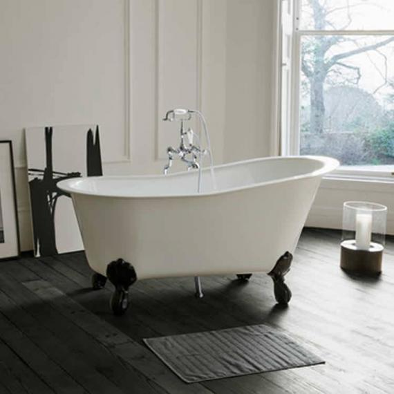 Clearwater Romano Petite Clear Stone Freestanding Bath & Feet