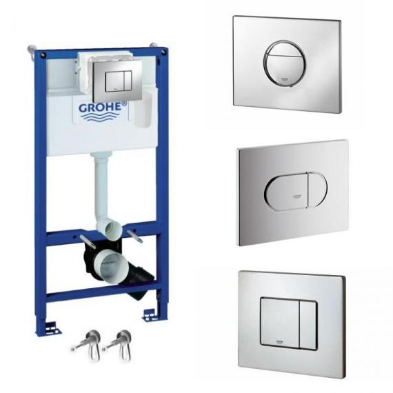 Grohe 4in1 Rapid SL 1.0m Fresh Concealed Cistern Pack