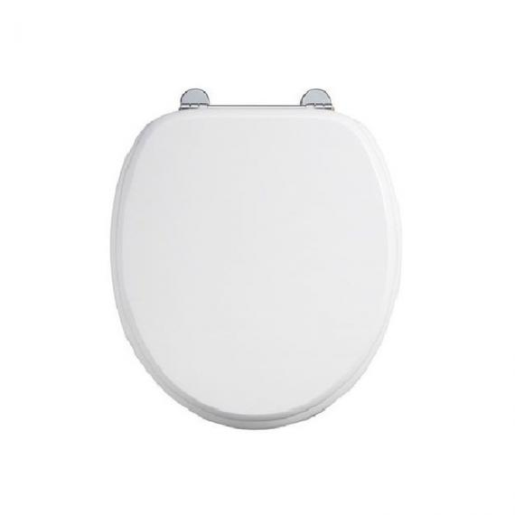 Burlington Close Coupled Toilet With Front Button