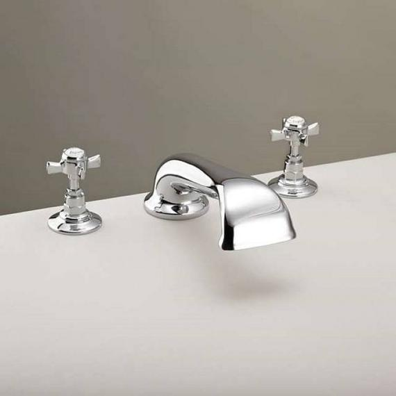 St James Collection 3 Hole Bath Filler - England Handle