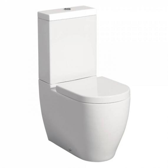 Bauhaus Stream II Close Coupled WC, Cistern & Soft Closing Seat