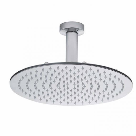 Roper Rhodes Round 300mm Polished Stainless Steel Shower Head & Arm