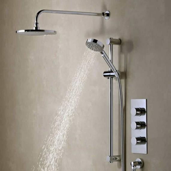 Roper Rhodes Event Round Triple Function Shower System - Spec