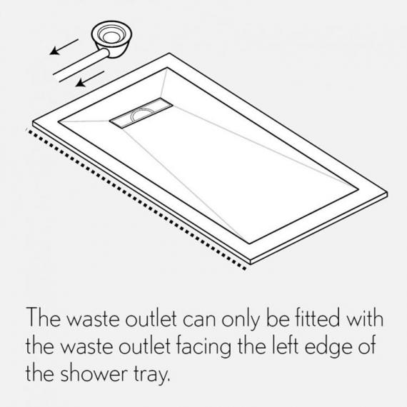 Simpsons Linear 25mm Shower Tray Specification