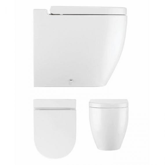 Bauhaus Stream II Back To Wall WC & Soft Closing Seat