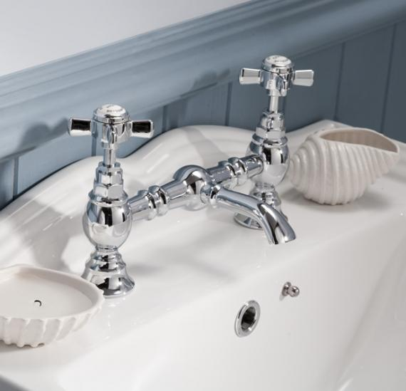 Ultra Beaumont Luxury Bridge Basin Mixer Without Waste