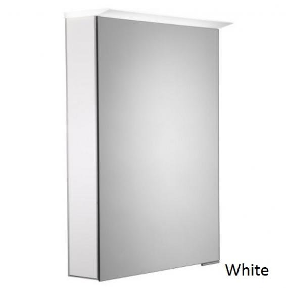 Roper Rhodes Virtue LED Illuminated Aluminium Mirror Cabinet - White