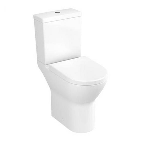 Vitra S50 Comfort Height Open Back Close Coupled WC, Cistern & Seat - Image 2