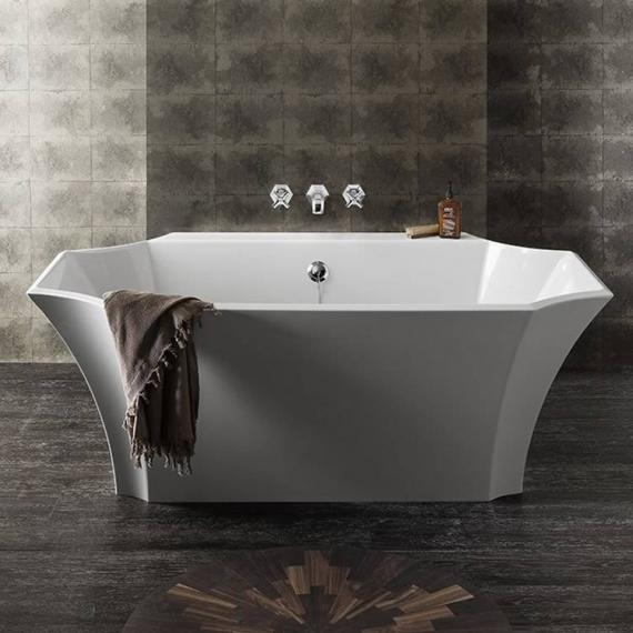 Bauhaus Waldorf Back To Wall Freestanding Bath