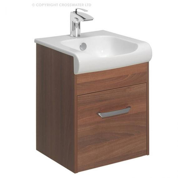 Bauhaus Essence 40 Walnut Vanity Unit & Basin