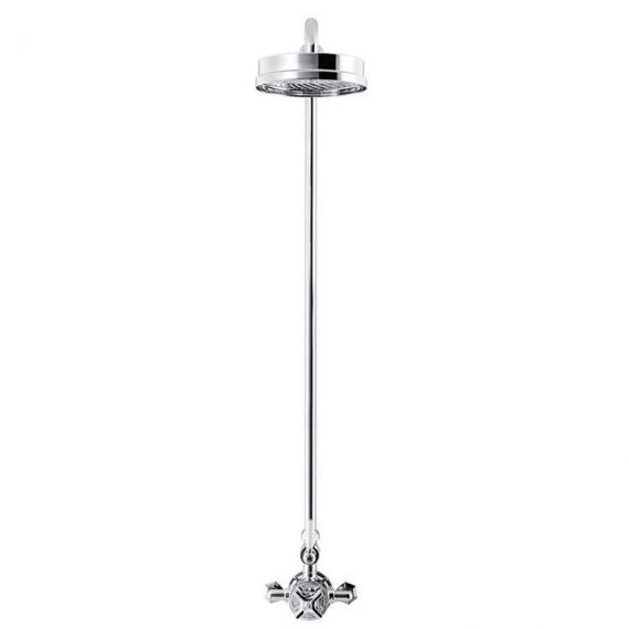 Crosswater Waldorf Exposed Thermostatic Shower Valve Kit With 8