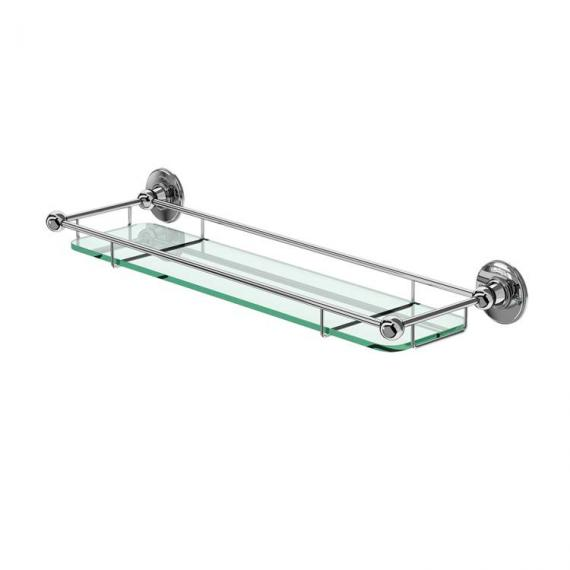Burlington Glass Shelf With Rail