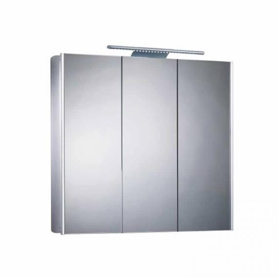 Roper Rhodes Absolute Aluminium Mirror Cabinet With Light - Image 2