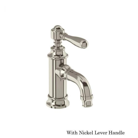 Arcade Nickel Mini Mono Basin Mixer With Nickel Lever