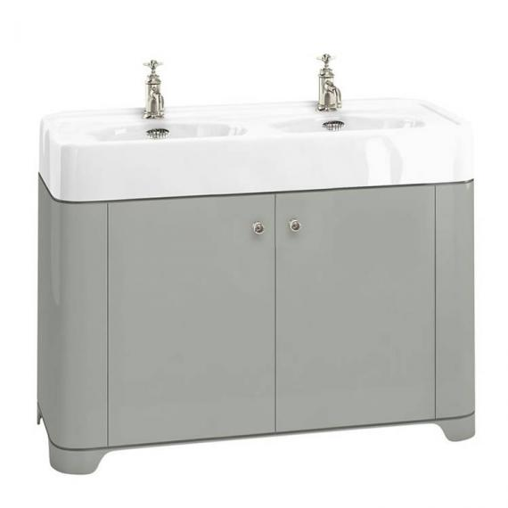 Arcade Dark Olive 1200mm Floorstanding Vanity Unit & Basin