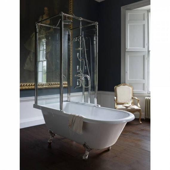 Bath With Shower Over arcade royal single ended over bath shower temple | victorian