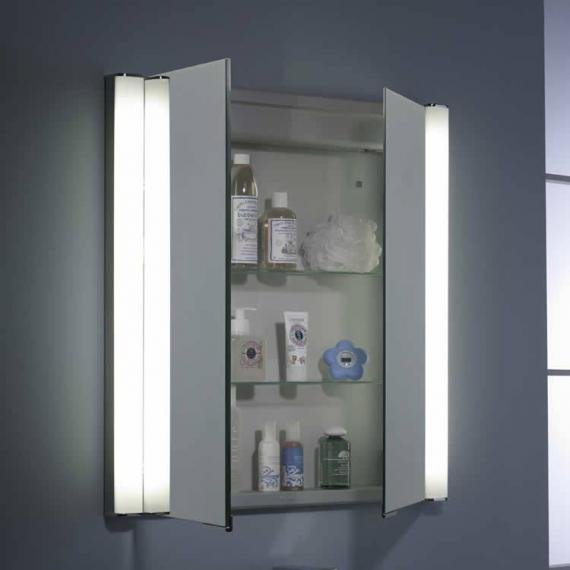 Roper Rhodes Transition Recessible Mirror Cabinet With Lighting - Image 2
