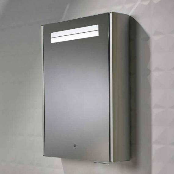 Roper Rhodes Touch Aluminium Mirror Cabinet With Heated Demister