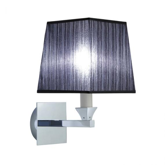 Imperial Astoria Wall Light With Black Fabric Shade