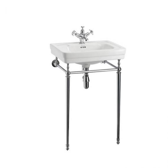 Burlington Contemporary Medium 58cm Basin With Wash StandBurlington Contemporary Medium 58cm Basin With Wash Stand