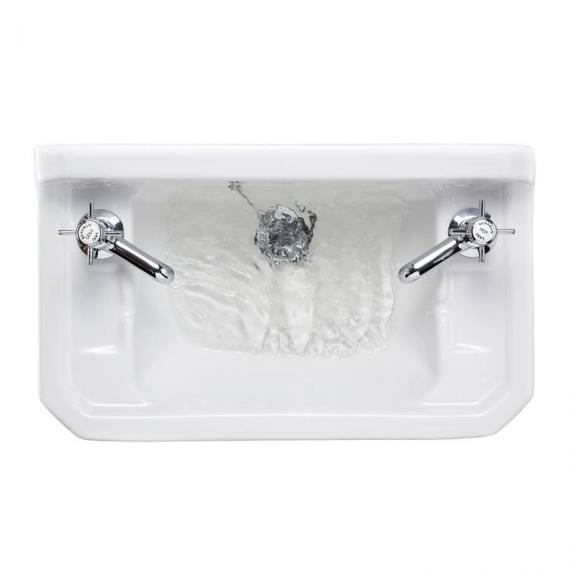 Burlington Edwardian Wall Mounted Cloakroom Basin Image 2