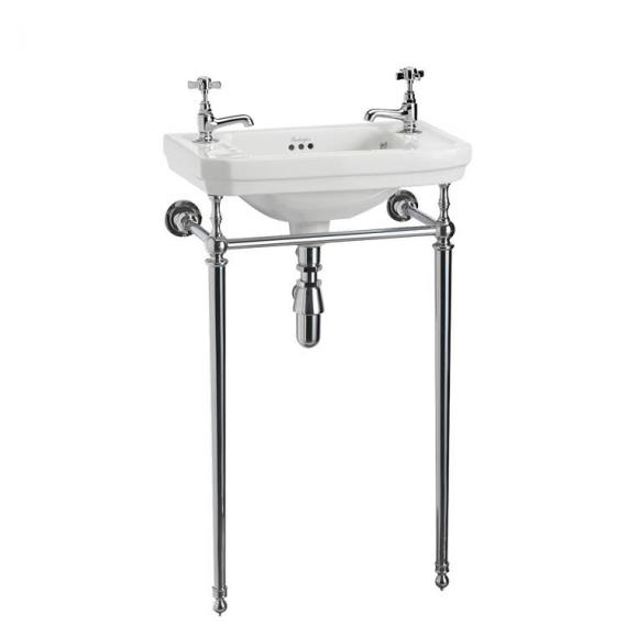 Burlington Victorian Cloakroom Basin With Washstand - Image 2