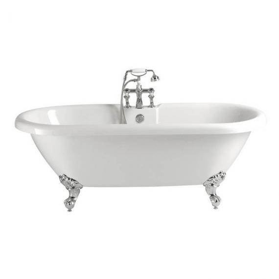 Heritage Baby Oban Roll Top Double Ended Freestanding Bath & Feet