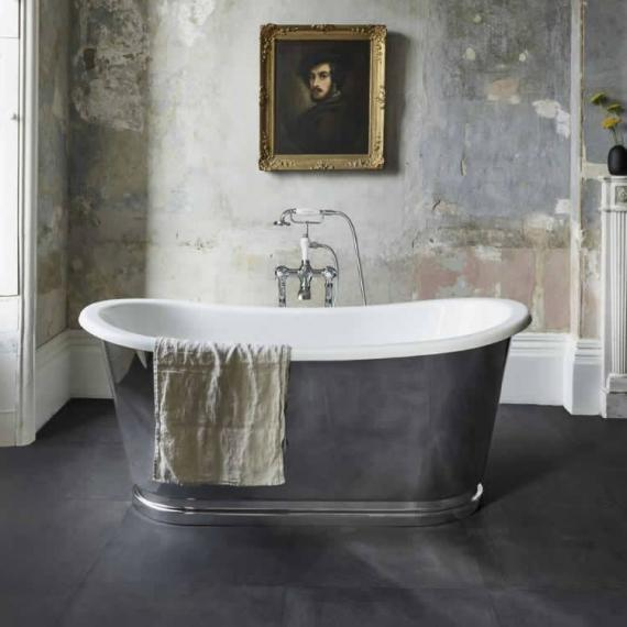 Clearwater Balthazar Clear Stone Freestanding Bath