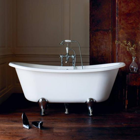 Clearwater Batello Grande Clear Stone Freestanding Bath & Feet