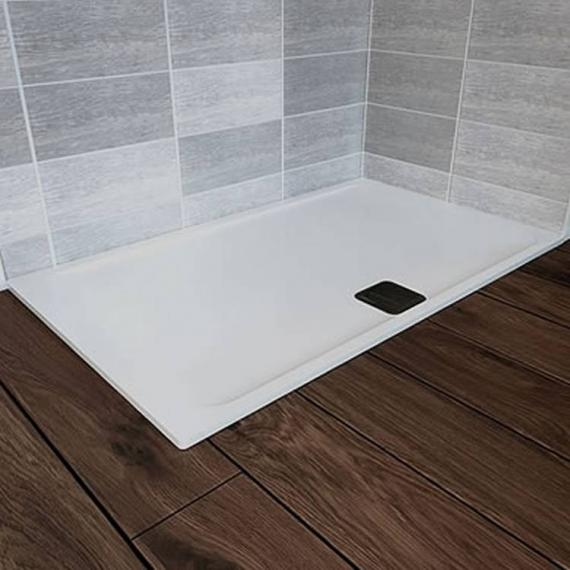 Blu-Gem2 1400 x 800mm Rectangle 25mm Shower Tray & Waste