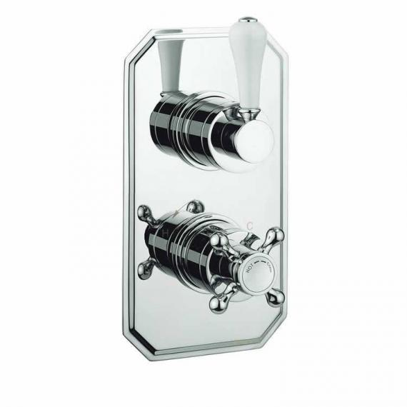 Crosswater Belgravia Lever 1500 Thermostatic Shower Valve With 2 Way Diverter