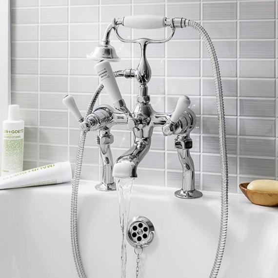 Crosswater Belgravia Lever Bath Shower Mixer